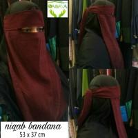 CADAR BANDANA /niqab