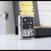 Jual ZIPPO ORIGINAL ELVIS BLING 24177 LIMITED EDITION NUMBERED Murah