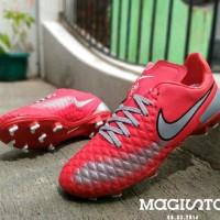 sepatu bola nike magista made in vietnam merah 39-44