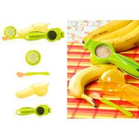 Jual SALE! Nuby Fruit Veggie Press Alat Makan MPASI Bayi BPA Free Murah
