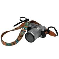 strap kamera motif tribal eibag 1604 C