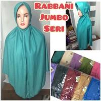 jilbab hijab kerudung syiria rabbani rabani jumbo serut seri warna