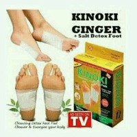 KINOKI GOLD BOX GINGER SALT(coklat), AROMA HERBAL