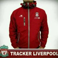 Jaket waterproof bola Liverpool