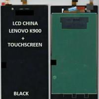 Jual LCD LENOVO K900 + TOUCHSCREEN HITAM Murah