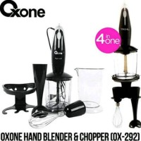 Jual Oxone OX-292 Hand Blender & Chopper Murah