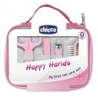 CHICCO Italy Happy Hands Manicure Set Gunting Perawatan Kuku Bayi
