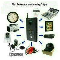 Alat Detector wireless anti sadap/ anti Spy camera tersembunyi