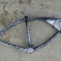 frame / rangka sepeda lowrider (khusus go-send)