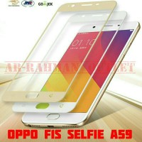 Oppo F1s Selfie A59 Tempered Glass Color Warna Full Layar Hp Colorfull