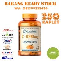 Puritan's Pride Vitamin C 1000 mg Bioflavonoids & Rose Hips 250 kaplet