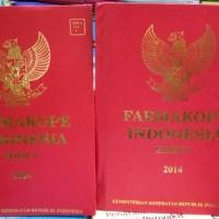 Farmakope Indonesia Edisi 5 Tahun 2014 Buku 1 Dan 2