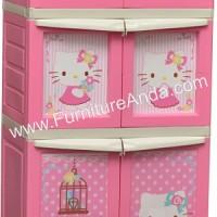 harga Lemari Plastik Napolly - Hello Kitty 6 Pintu (bcbc Xxg2 Ktsh ) Tokopedia.com
