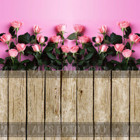 Jual Background Photo 2 Model Bunga A3+ WR104 (Alas/Tempat Foto)46x30cm Murah