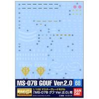 1/100 GD-68 MG MS-07B Gouf Ver.2.0