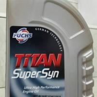 Oli Fuchs Titan Super Syn SAE 5W-40 API SN / CF Made In EU Kemasan 1Le