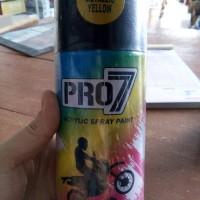 Cat semprot Pylox Pro 7 acrylic spray paint Gold / Kuning Emas 300cc