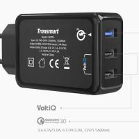 Tronsmart 42W Quick Charge 3.0 with VoltiQ Tech 3 Ports (EU Socket)