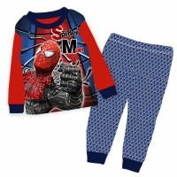 Baju/piyama Anak Cuddle Me Spiderman, Avenger
