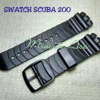 STRAP SWATCH SCUBA 200/TALI JAM TANGAN SWATCH SCUBA 200/STRAP