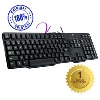 Logitech Keyboard K100 Classic PS2 Original