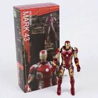 Jual Ation Figure Iron Man 43 Box Murah