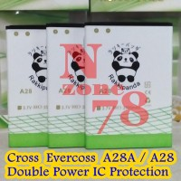 Baterai Cross Evercoss A28a Rakkipanda Double Power