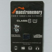 Original Micro SD Vgen Maestro 32GB Class 10 | Garansi Life Time