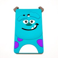 Samsung TAB 3 V / 3 LITE / T110 3D Monsters Sulley Silicon Case Cover