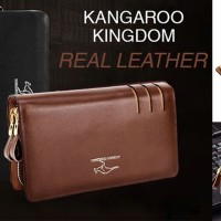 DOMPET CLUTCH KANGAROO KINGDOM REAL LEATHER
