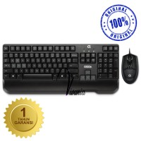 """Logitech Keyboard + Mouse G100s Gaming Combo Original"""