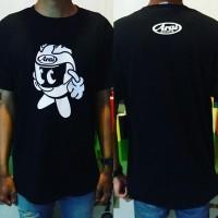 Kaos Arai / T Shirt Arai Helmet / Sablon Arai / Baju Arai