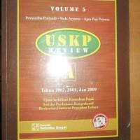 USKP REVIEW A (Th 2007,2008 &2009) UJIAN SERTIFIKASI KONSULTAN PAJAK