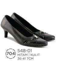 Sepatu Heels Kulit Wanita / Seoatu Formal Wanita Azzurra ( 548-01 )