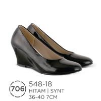 Sepatu Wedges Wanita / Sepatu Formal Wanita Azzurra ( 548-18 )