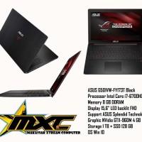 ASUS ROG Gaming G501VW-FY173T Black