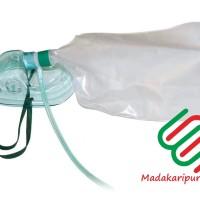 Masker Oksigen Non Rebreathing / Masker Oksigen Non Rebreathing dewasa