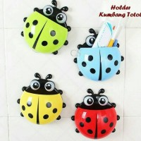 LADY BUG HOLDER TOOTH BRUSH / TEMPAT SIKAT GIGI KUMBANG TOTOL / KEPIK
