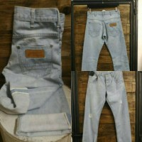 Celana Jeans Wrangler Original spencer Selvedge
