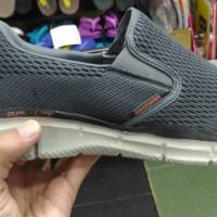 Skechers equalizer persistent air cooled memory foam grey ori no box