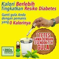 Jual Stevia Pengganti pemanis gula nol kalori Murah