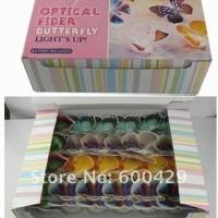 Lampu Kupu LED berubah 7 Warna untuk souvenir dan dekorasi