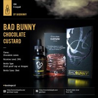 Jual Bad Bunny Chocolate Custard 30ml | Premium Indonesian Liquid Murah