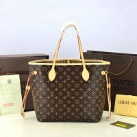Tas Louis Vuitton LV Neverfull MM Monogram M40156 ORI KULIT ASLI