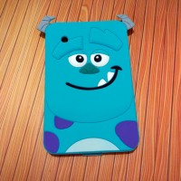 """Samsung TAB 2 7"""" P3100 3D Monsters Sulley Soft Silicon Case Cover"""