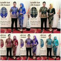 Batik Couple / Kebaya / Sarimbit Batik Lilit Pramesti