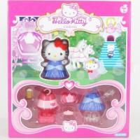 Mainan Boneka Figurine Hello Kitty Cinderella Asli