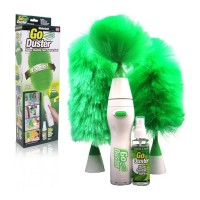 GoDust Electric Home Duster Powered By AAA Battery/Kemoceng Elektrik