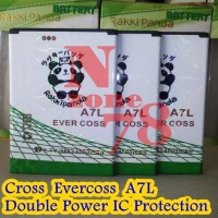 BATERAI CROSS EVERCOSS A7L DOUBLE POWER PROTECTION GARANSI 1 TAHUN