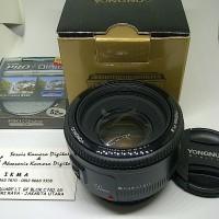 harga Lensa Fix Yongnuo 50mm F.1.8 For Canon Original Bonus ++ Tokopedia.com